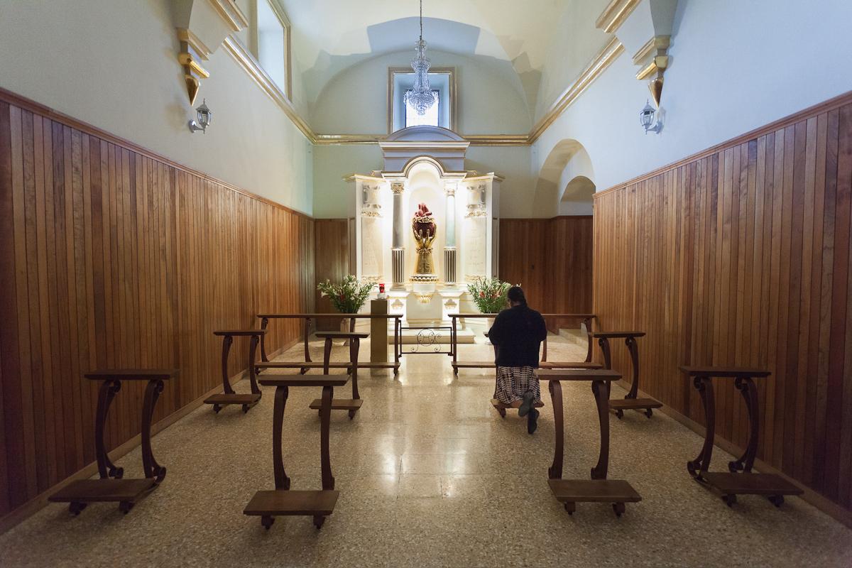 Iglesia de la Virgen de Juquila, Santa Catarina Juquila, Oaxaca, México.