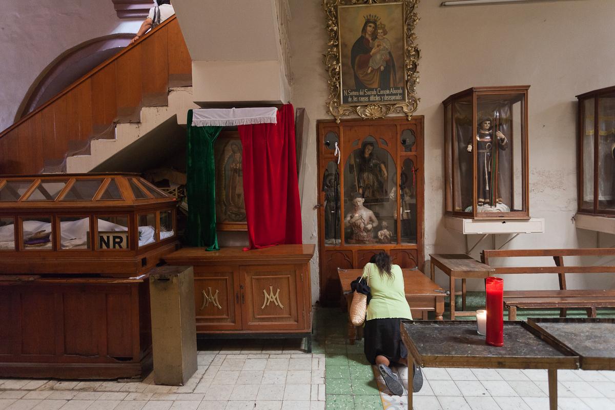 Templo de San Juan de Dios, Oaxaca, México.
